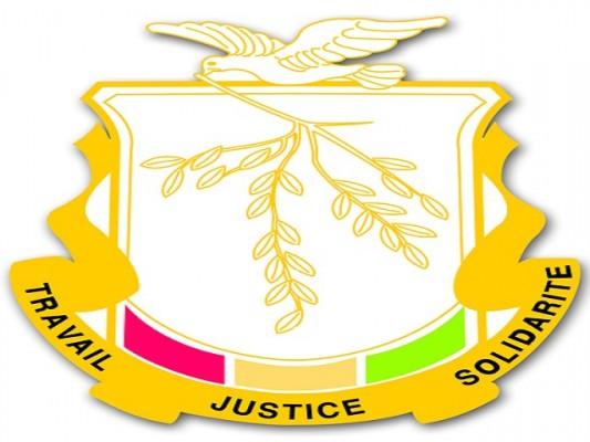 L'emblème de la Guinée